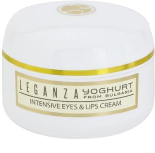 Leganza Yoghurt crema intensa per il contorno occhi e le labbra