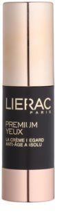 Lierac Premium krem pod oczy zapewniający kompleksową pielęgnację przeciw zmarszczkom, opuchnięciom i cieniom pod oczami