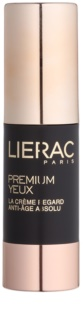 Lierac Premium околоочен крем за комплексна грижа против бръчки, отоци и черни кръгове
