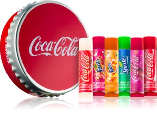 Lip Smacker Coca Cola Mix coffret IV. (para lábios)