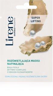 Lirene Masks and Peeling rozjasňující maska pro omlazení pleti