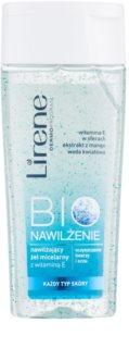 Lirene Bio Hydration mizellares Reinigungsgel für Gesicht und Augen