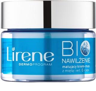 Lirene Bio Hydration hydratační krém s matujícím efektem pro smíšenou a mastnou pleť