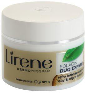 Lirene Folacin Duo Expert 40+ интензивен крем против бръчки SPF 6