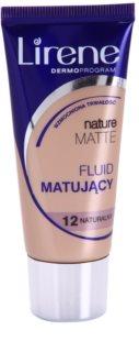 Lirene Nature Matte mattosító make-up folyadék a hosszan tartó hatásért