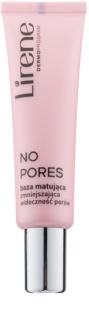 Lirene No Pores mattierende Make up-Basis strafft die Haut und verfeinert Poren