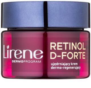 Lirene Retinol D-Forte 60+ creme de noite reafirmante com efeito regenerativo