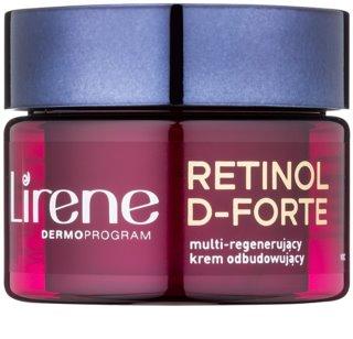 Lirene Retinol D-Forte 70+ erneuernde Nachtcreme mit regenerierender Wirkung