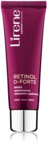 Lirene Retinol D-Forte vyživující a zpevňující maska na obličej, krk a dekolt