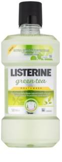 Listerine Green Tea enjuague bucal para fortalecer el esmalte dental