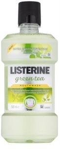 Listerine Green Tea szájvíz a fogzománc megerősítésére