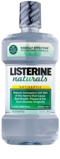 Listerine Naturals Herbal Mint bain de bouche antiseptique