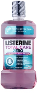 Listerine Total Care Zero Complete-Care Protective Anticavity Mouthwash for Fresh Breath Without Alcohol
