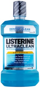 Listerine Ultra Clean Artic Mint Mouthwash For Fresh Breath