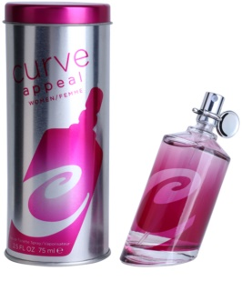 Liz Claiborne Curve Appeal for Women Eau de Toilette voor Vrouwen  75 ml