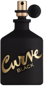 Liz Claiborne Curve  Black Eau de Cologne for Men 125 ml