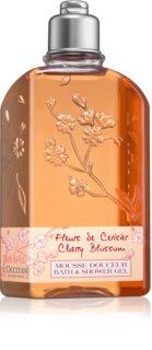 L'Occitane Fleurs de Cerisier τζελ για ντους