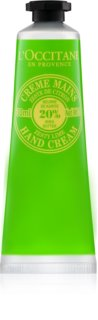 L'Occitane Shea Butter Hand Cream with Lime Aroma
