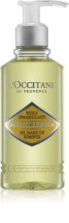 L'Occitane Immortelle олио за премахване на грим за лице и очи