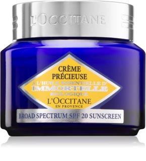 L'Occitane Immortelle ελαφριά συσφικτική κρέμα SPF 20