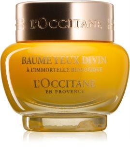 L'Occitane Immortelle Divine balsam de noapte hranitor impotriva cearcanelor si ochilor umflati