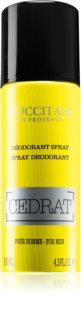 L'Occitane Cedrat Deodorant Spray for Men 130 ml
