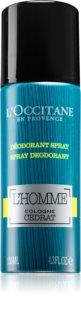 L'Occitane L´Homme Cologne Cedrat Deodorant Spray for Men 130 ml