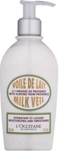L'Occitane Amande хидратиращо мляко за тяло с изглаждащ ефект