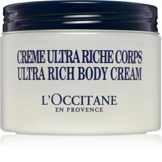 L'Occitane Karité crème corporelle pour peaux sèches à très sèches