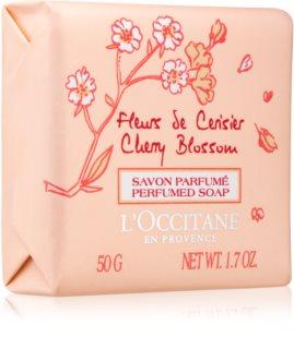 L'Occitane Fleurs de Cerisier αρωματισμένο σαπούνι για γυναίκες 50 γρ