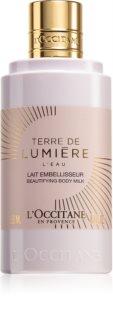 L'Occitane Terre de Lumière jemné tělové mléko pro ženy