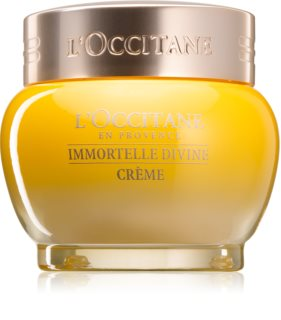 L'Occitane Immortelle Divine Face Cream with Anti-Wrinkle Effect