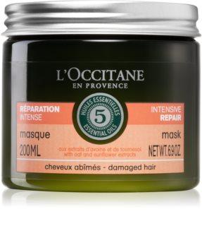 L'Occitane Aromachologie máscara intensiva para cabelo danificado
