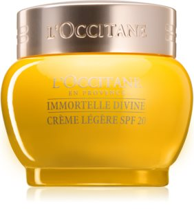 L'Occitane Immortelle Divine Light Moisturizing Cream with Anti-Wrinkle Effect