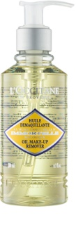 L'Occitane Immortelle Make-up Remover Olie  voor Gezicht en Ogen