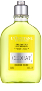 L'Occitane Cedrat Body and Hair Shower Gel