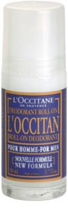 L'Occitane Pour Homme Roll-On Deodorant  For Men