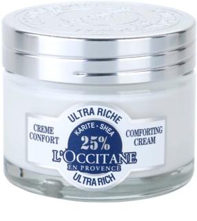 L'Occitane Karité поживний заспокоюючий крем для обличчя