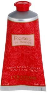 L'Occitane Rose Hand Cream With The Scent Of Roses