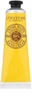 L'Occitane Shea Butter крем за ръце с аромат на ванилия