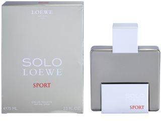 Loewe Solo Loewe Sport eau de toilette pentru barbati 75 ml