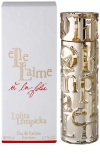Lolita Lempicka Elle L'aime A La Folie Eau de Parfum voor Vrouwen  80 ml