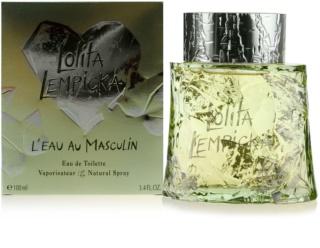 Lolita Lempicka L`Eau Au Masculin Eau de Toilette voor Mannen 100 ml