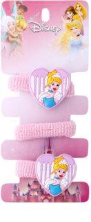 Lora Beauty Disney Popelka gumičky do vlasů ve tvaru srdce
