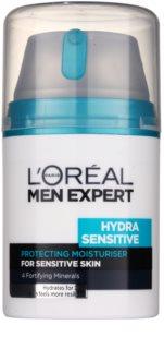 L'Oréal Paris Men Expert Hydra Sensitive хидратиращ крем  за чувствителна кожа на лицето