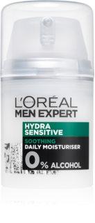 L'Oréal Paris Men Expert Hydra Sensitive creme hidratante e apaziguador  para pele sensível