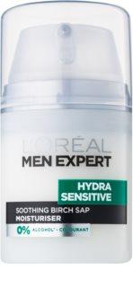 L'Oréal Paris Men Expert Hydra Sensitive Kalmerende en Hydraterende Crème  voor Gevoelige Huid