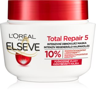 L'Oréal Paris Elseve Total Repair 5 regenererende sheet mask voor het Haar