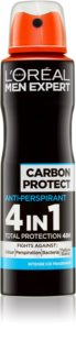 L'Oréal Paris Men Expert Carbon Protect spray anti-perspirant
