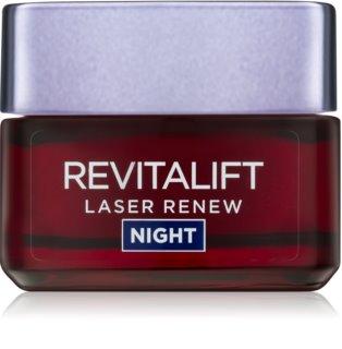 L'Oréal Paris Revitalift Laser Renew κρέμα νύχτας ενάντια στη γήρανση της επιδερμίδας
